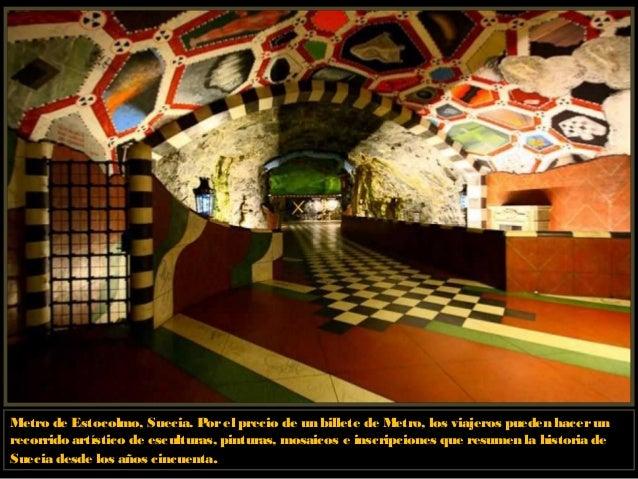 Metro de Estocolmo, Suecia