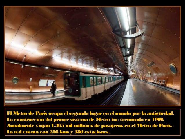 Metro de Munich, Alemania. El sistema de metro se implementó en la ciudad en el año 1971, con motivo de brindarun óptimo s...