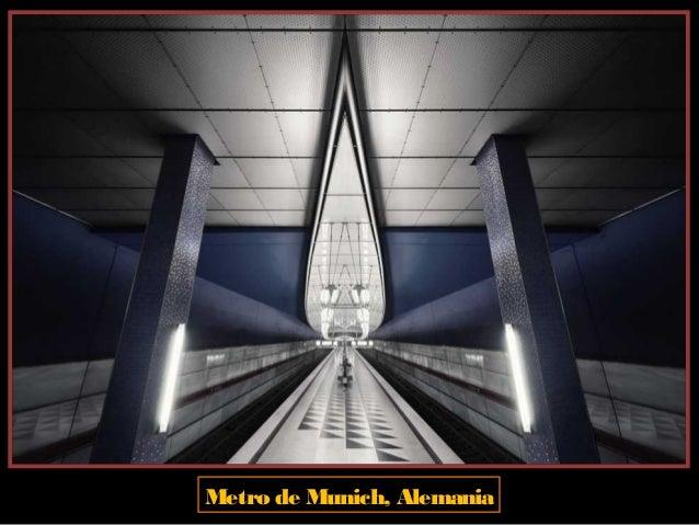 Metro de Munich, Alemania
