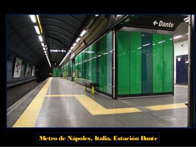 Metro de Nápoles, Italia Estación Museo