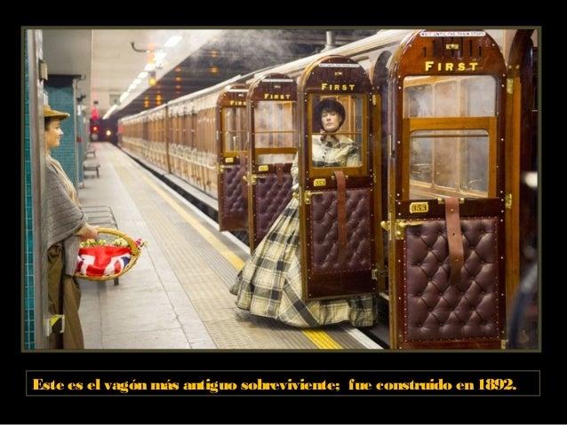 Metro de Londres actualmente. Estación Westminster. Cuenta con 268 estaciones y su longitud total de tramos es de más de 2...