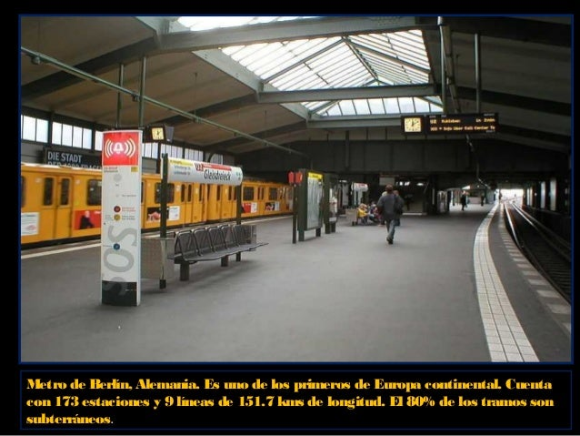 Metro de Berlín, Alemania