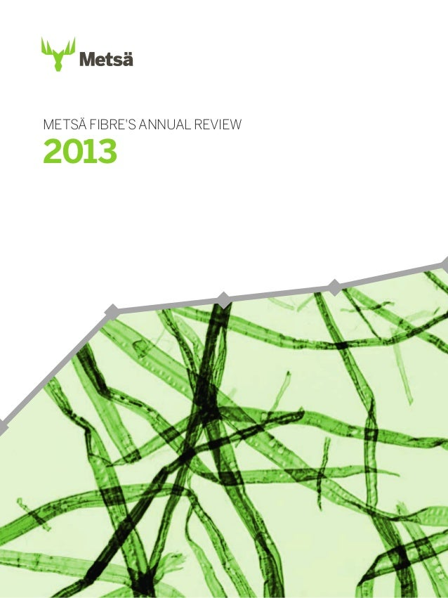 METSÄ FIBRE'S ANNUAL REVIEW  2013