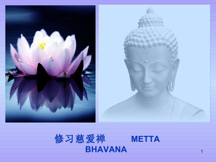 修习慈爱禅  METTA BHAVANA