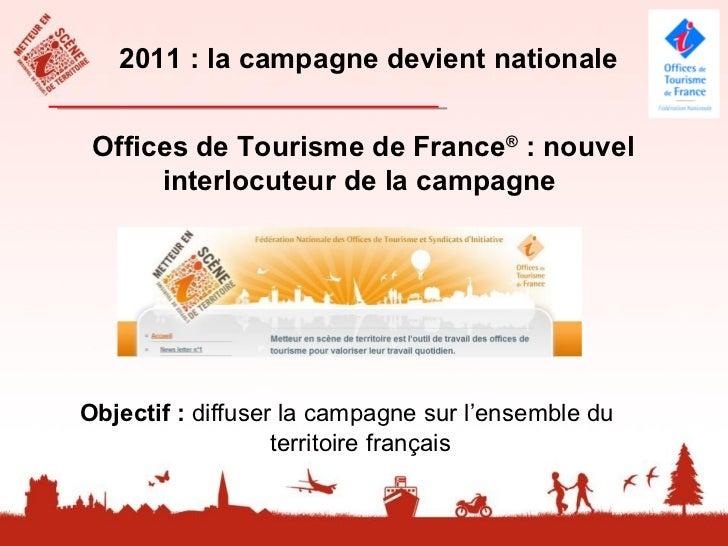 2011, une nouvelle cible : lesadministrateurs et salariés         Des outils crées par le réseau                          ...