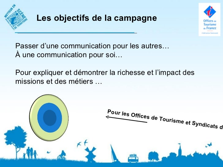 Les objectifs de la campagnePasser d'une communication pour les autres…À une communication pour soi…Pour expliquer et démo...
