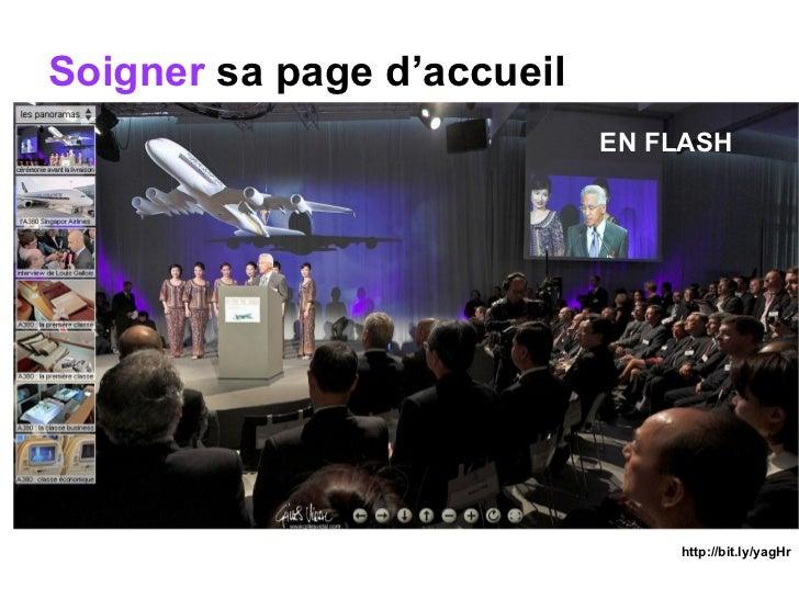 Soigner  sa page d'accueil EN FLASH http://bit.ly/yagHr