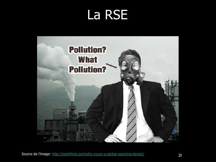 La RSE Source de l'image:  http://earthfirst.com/why-youre-a-global-warming-denier/