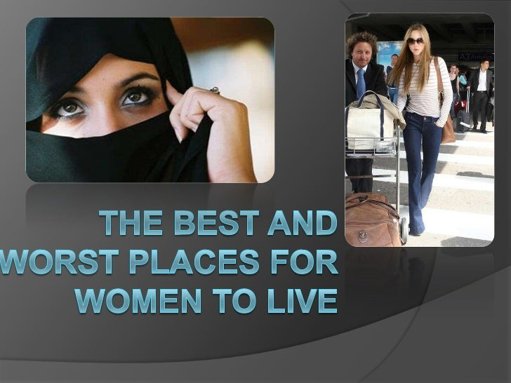 The BEST and WORST Places for Women to Live<br />