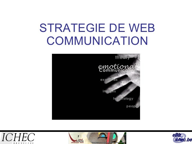 STRATEGIE DE WEB COMMUNICATION