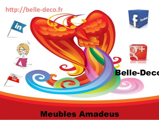 http://belle-deco.fr  Belle-Deco  Meubles Amadeus