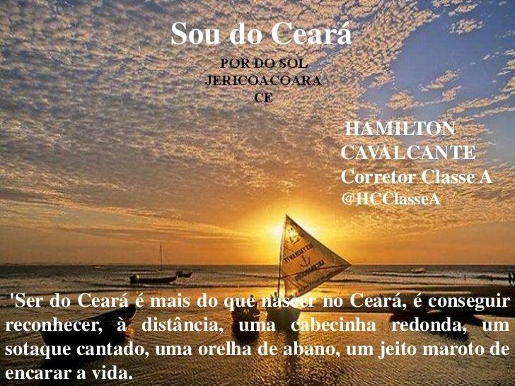 Sou do Ceará                                     HAMILTON                                     CAVALCANTE                  ...