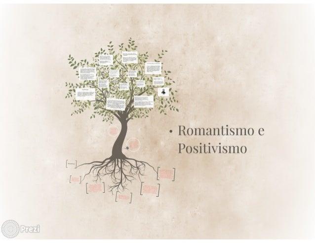 Romantismo e  Positivismo
