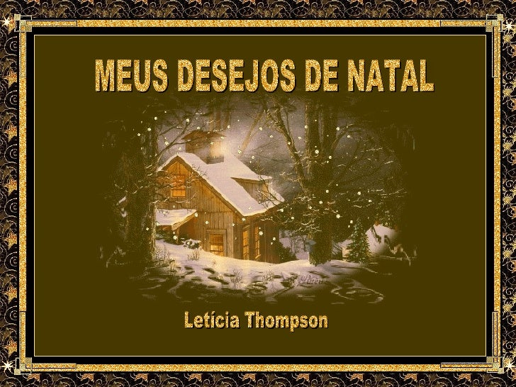 MEUS DESEJOS DE NATAL Letícia Thompson
