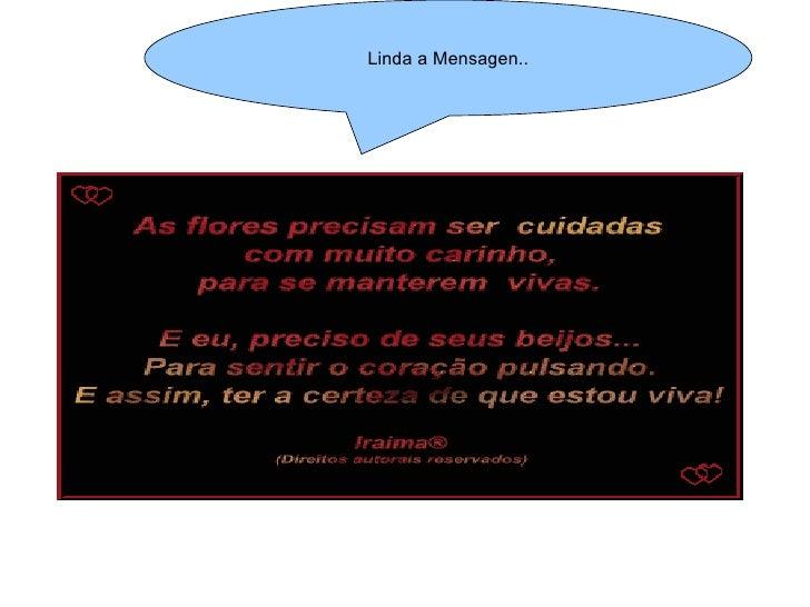 Linda a Mensagen..