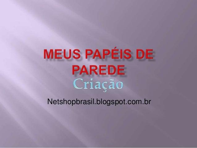 Netshopbrasil.blogspot.com.br