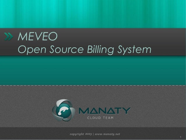MEVEO Open Source Billing System  1