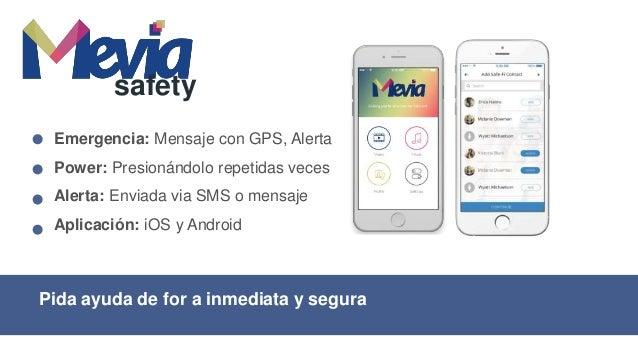 Seguridad para uso corporativo de emergencia Safety enterprise Enterprise: Backend de ayuda, mapeo Tiempo real: Rastreo co...