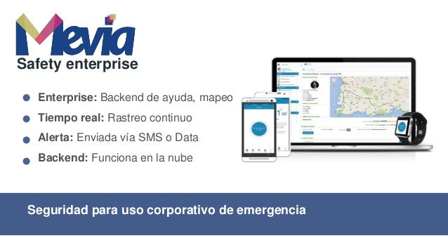 Identifica tu ubicación en forma rápida Safety Enterprise Ubicación: Envía tu dirección de GPS Alerta: Activada vía App Ra...