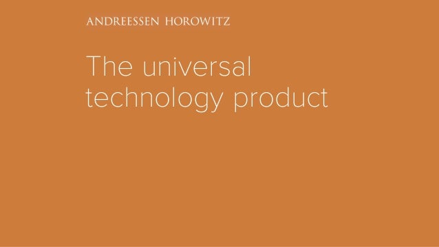 The universal technology product