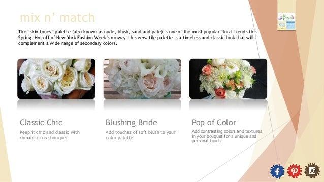 Mews Designs - Spring 2014 Wedding Floral Trends Slide 2