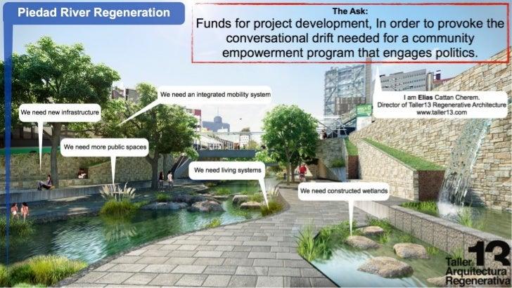 Regeneración Río Piedad Cd Mexico