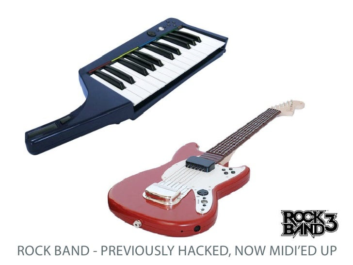 ROCK BAND - PREVIOUSLY HACKED, NOW MIDI'ED UP