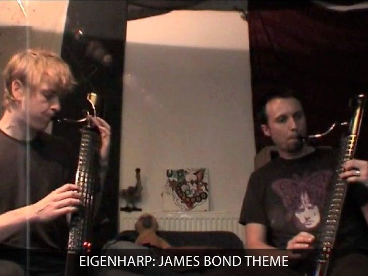 EIGENHARP: JAMES BOND THEME