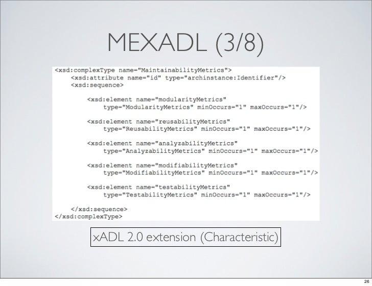 case study on xadl