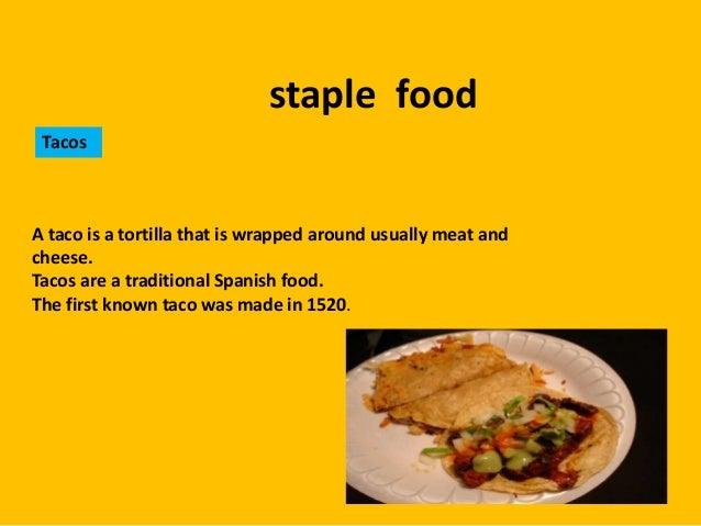 staple foods in mexican diet