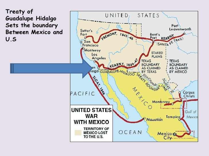 Compare and contrast the War of 1812 and the Mexican ... |Mexico Treaty