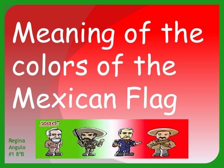Mexican Flag Colors