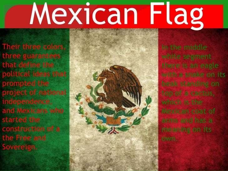 Mexican Flag Colors