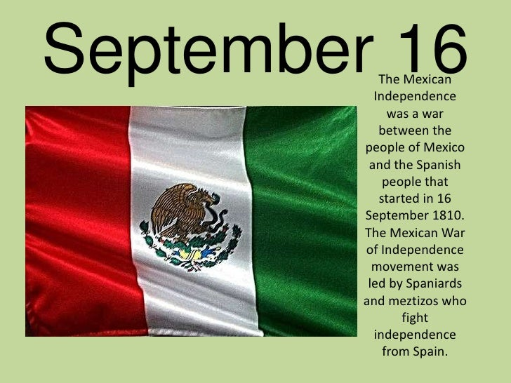 Mexico's independence date in Melbourne