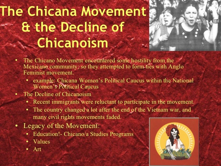 chicanoism today Chicanoism today meaning of the word chicano/a, to many of us it is the mixture of both american and mexican culture it had become a political term for those who .