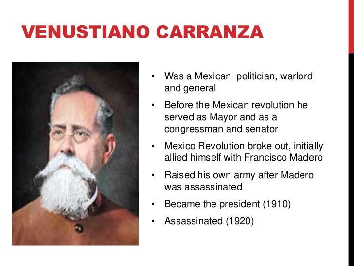 Biografia Corta De Venustiano Carranza Biografia De