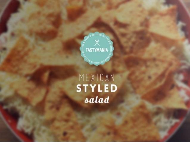 TASTYMANIA - MEXICAN - STYLED MLM