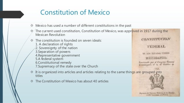 an overview of article 123 of the mexican constitution