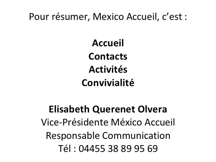 Mexico Acceuil