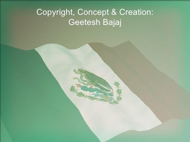 Mexico flag powerpoint presentation ppt template copyright concept creation geetesh bajaj toneelgroepblik Images