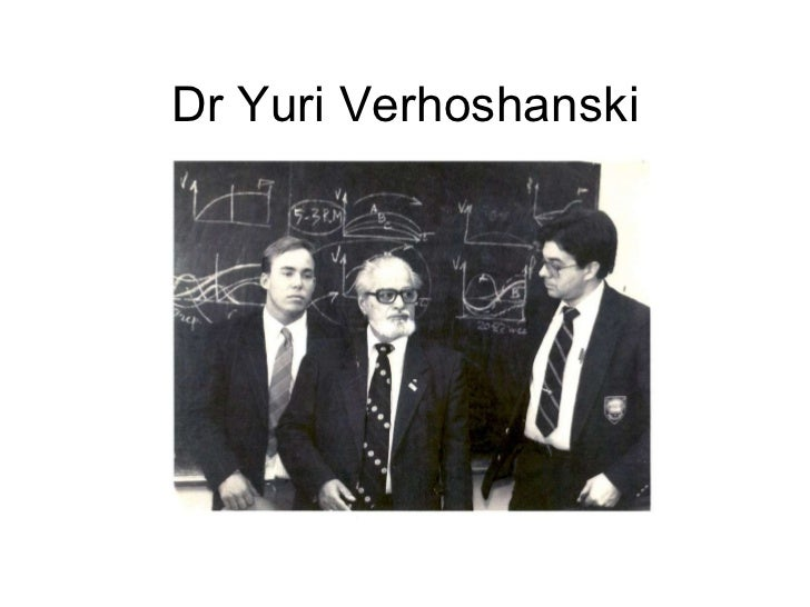 Dr Yuri Verhoshanski