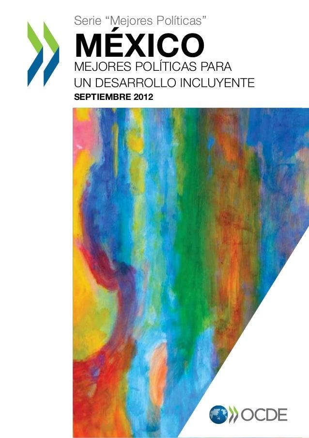 """Serie """"Mejores Políticas"""" MÉXICOMEJORES POLÍTICAS PARA SEPTIEMBRE 2012 RA"""