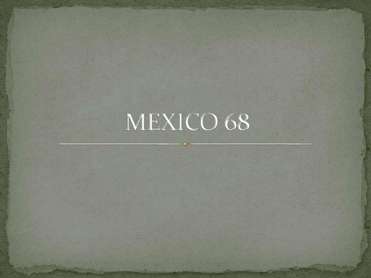 MEXICO 68<br />