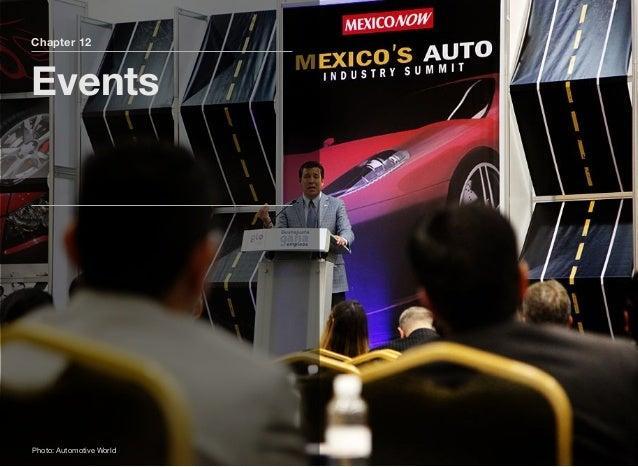 Section 2 Other Mexican Automotive Events Page 42 The full version of the Mexico AutoBook includes profiles of the followin...