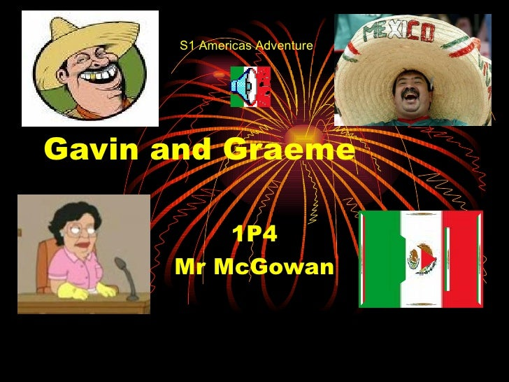 Gavin and Graeme 1P4 Mr McGowan S1 Americas Adventure