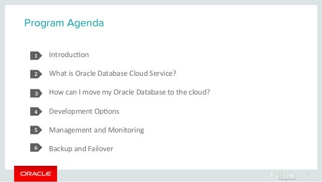 Fast, Flexible Application Development with Oracle Database Cloud Service Slide 3