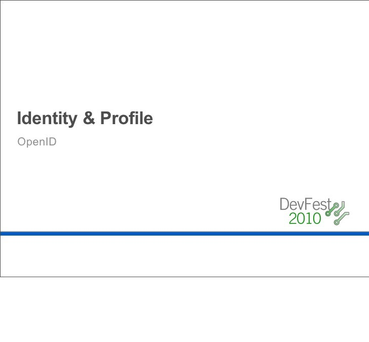 Now, unfortunately this is what OpenID often looks like today.