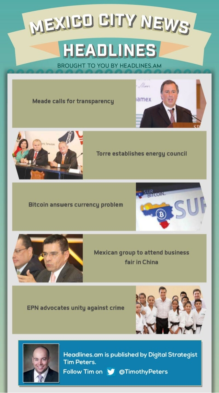 MEXICO CITY NEWS - OCTOBER 9, 2014