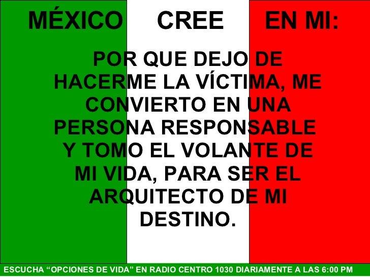 Mexico Cree En Mi Slide 2