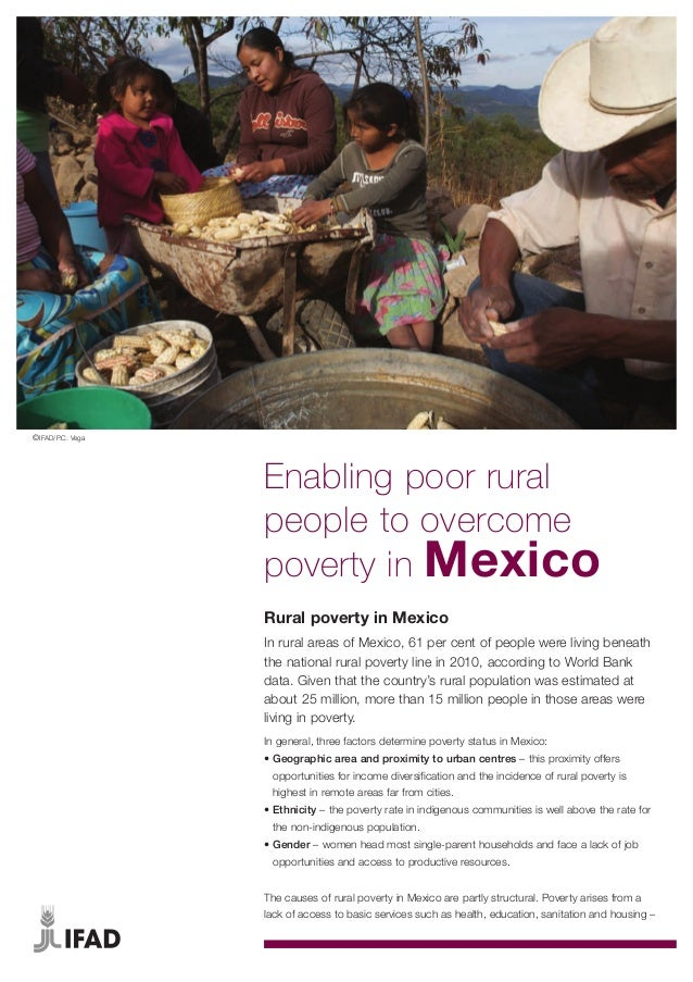 ©IFAD/P.C. Vega                  Enabling poor rural                  people to overcome                  poverty in Mexic...